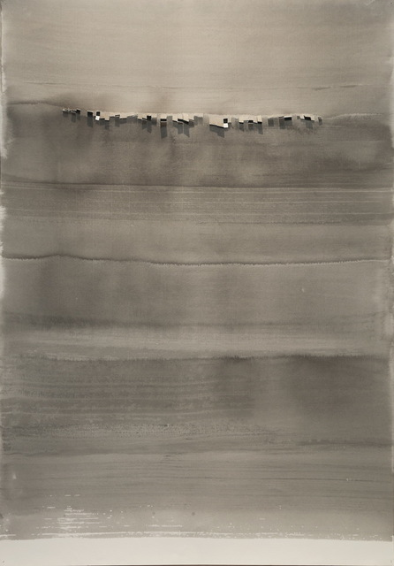 Chu Weibor, 'Gray Night', 1966, Painting, Ink on paper, Asia Art Center