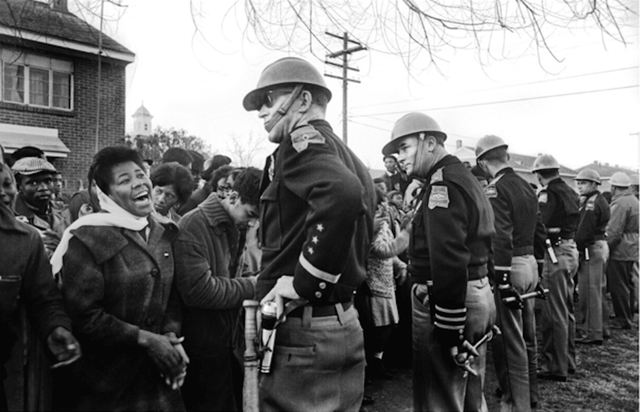 , 'Man with Crutches and National Guard,' 1965, Jackson Fine Art