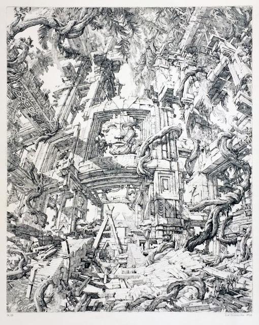 , 'Le Temple dans le jungle,' 1973, Childs Gallery