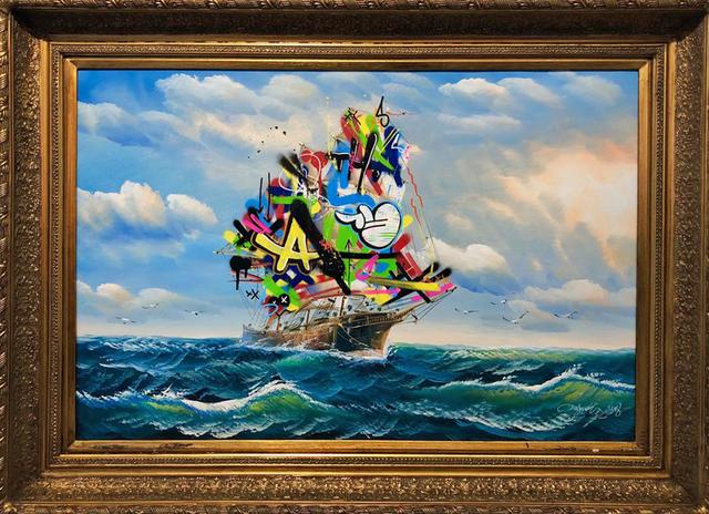 , 'Sailboat IV,' 2018, NextStreet Gallery