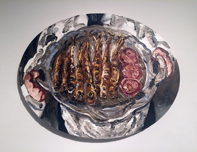 , 'Plate of Sardines,' 2017, Hal Bromm