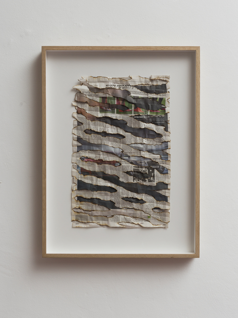 , 'Untitled (Haaretz 5),' 2016, Dvir Gallery