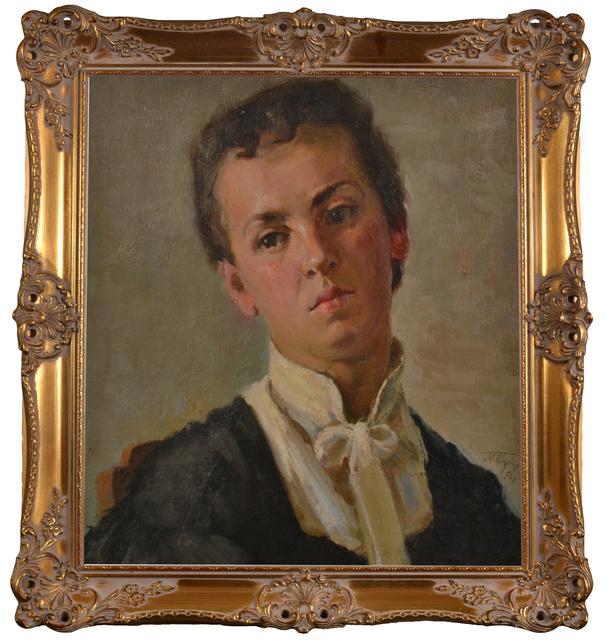Pavel Petrovich Miroshnichenko, 'Portrait of a girl', 1956, Art-Impression