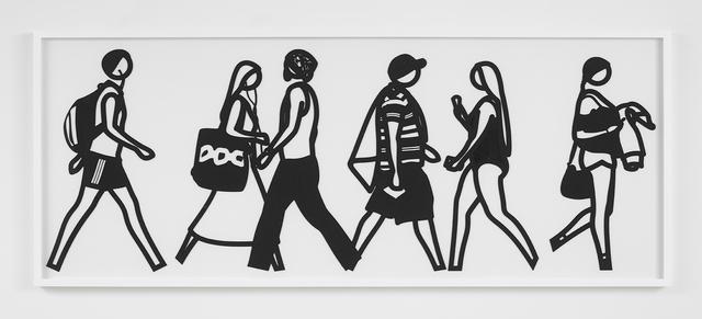 , 'Walking in Melbourne 3,' 2018, Alan Cristea Gallery