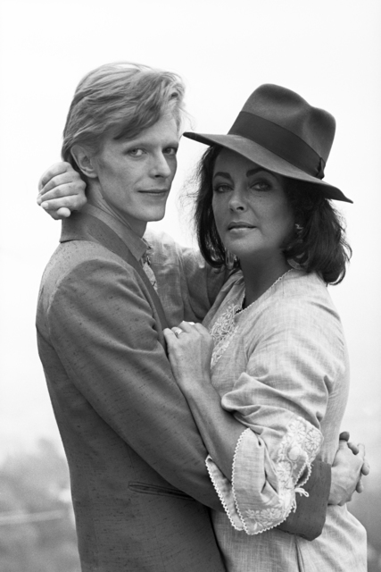 , 'David Bowie & Elizabeth Taylor Looking at Each Other,' ca. 1975, Mouche Gallery