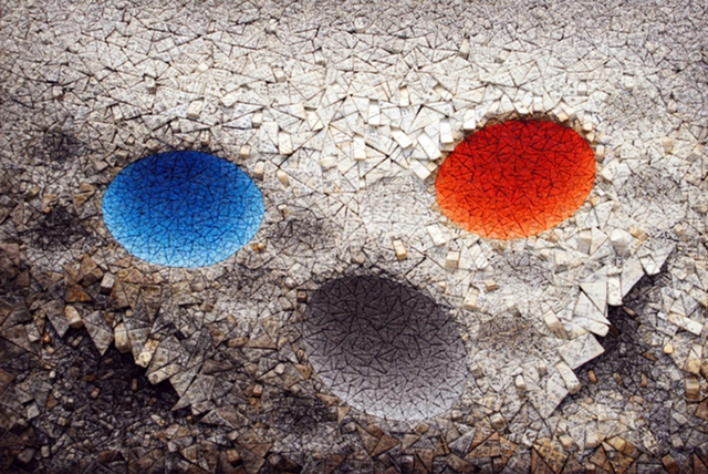 Chun Kwang Young, 'Aggregation11-MY039 BLUE & RED', 2011, ATELIER AKI