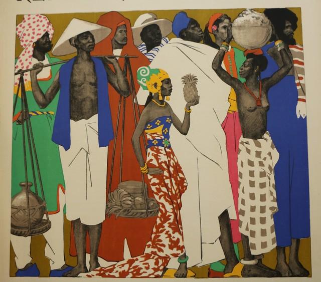 , 'Rare Lithographic Poster by De La Mézière for the 1931 Paris Colonial Exhibition,' 1931, Avant-Garde Gallery