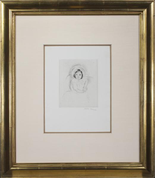 , 'Margot Wearing a Bonnet (No. 5),' ca. 1902, David Barnett Gallery