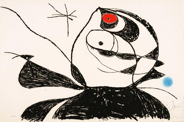 Joan Miró, 'Georges Duthuit (D934)', 1976, Galerie Simon Blais