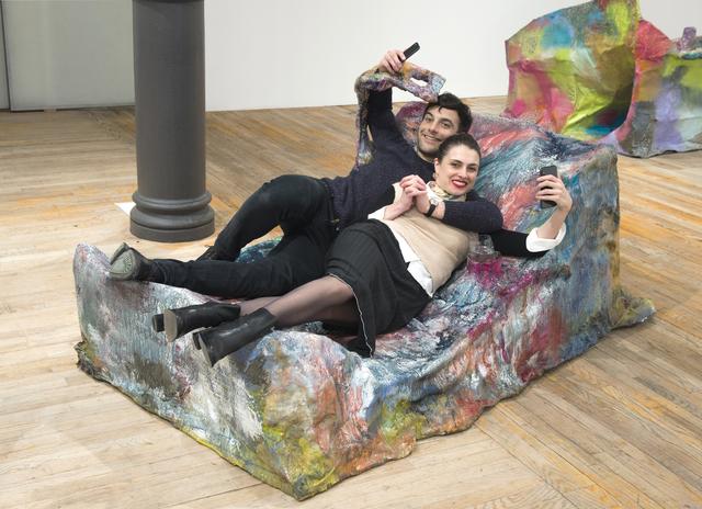 , 'Slumpie 4 – Lounger,' 2017, Postmasters Gallery