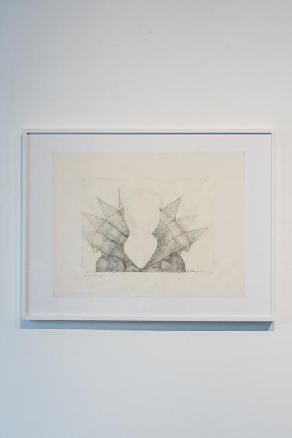 , 'Haubenzeichnung C, akademischer Stil,' 1969, PRISKA PASQUER