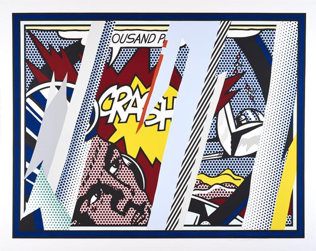 Roy Lichtenstein, 'Reflections on Crash (C. 239)', 1990, Joseph K. Levene Fine Art, Ltd.