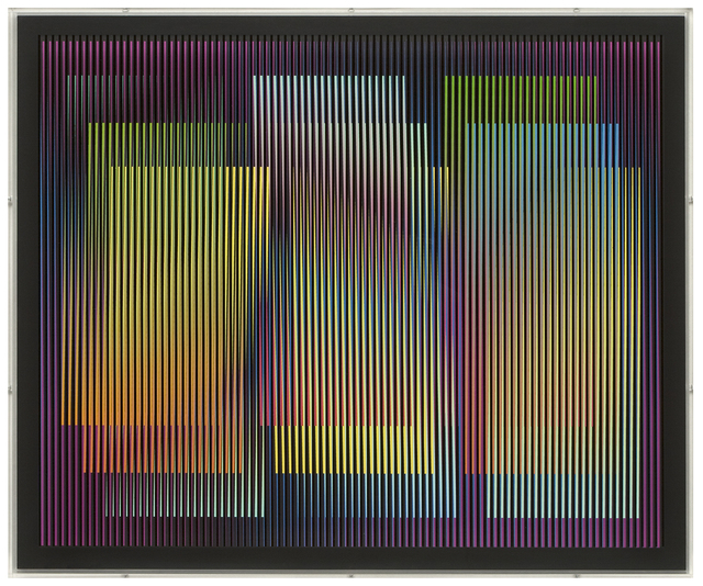 , 'Chromointérference ,' 2010, Mirat Projects