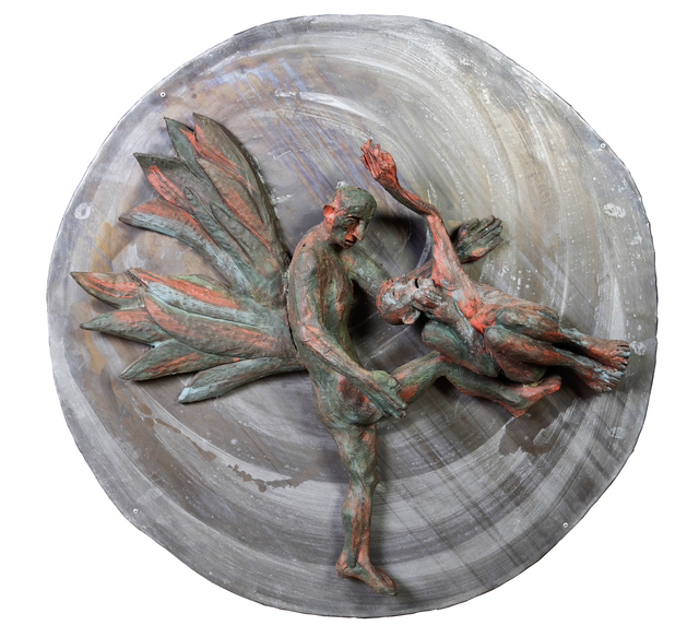 , 'Jacob fighting the Angel II,' 2015, Anaid Art