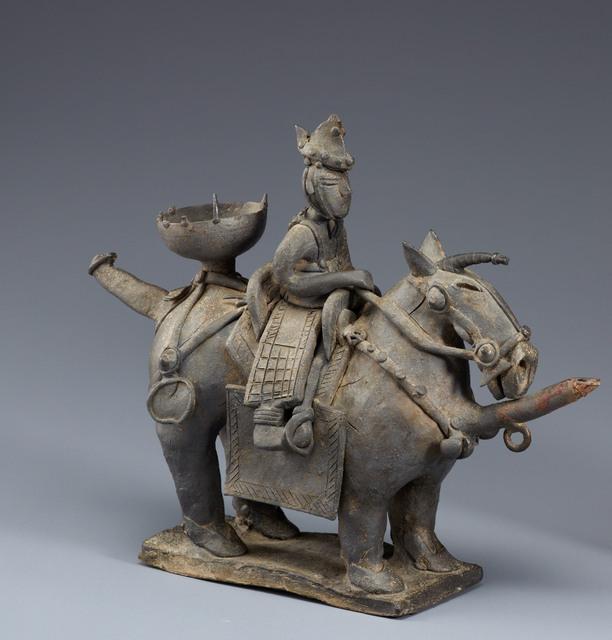 , 'Verseuses en forme de cheval avec son cavalier - Royaume de Silla,' V century, RMN Grand Palais