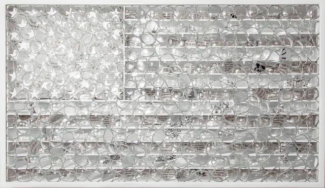 , 'White Flag,' 2019, Galleria Ca' d'Oro