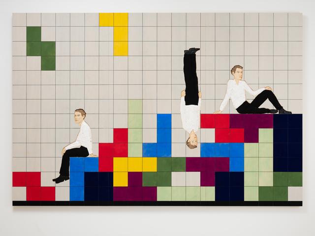 , 'Tetris Triptych,' 2019, Galerie Forsblom