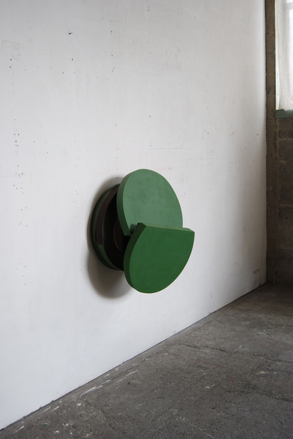 , 'Green Fall,' 2010, FOLD Gallery