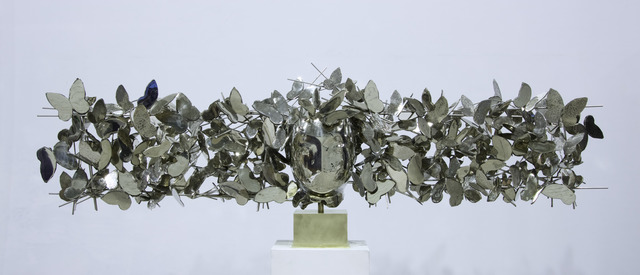 , 'Mariposas Plateadas III,' 2017, Opera Gallery