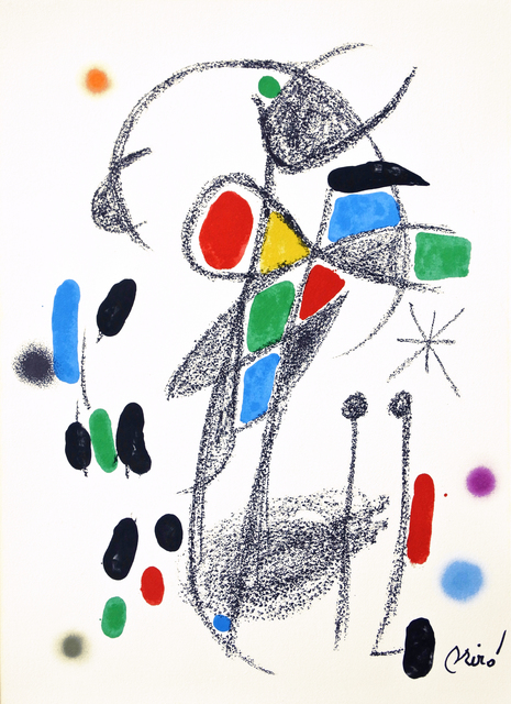 Joan Miró, 'Maravilla 18', 1975, Hans den Hollander Prints