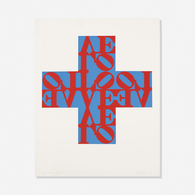 , 'Love Cross,' 1968, Artsnap