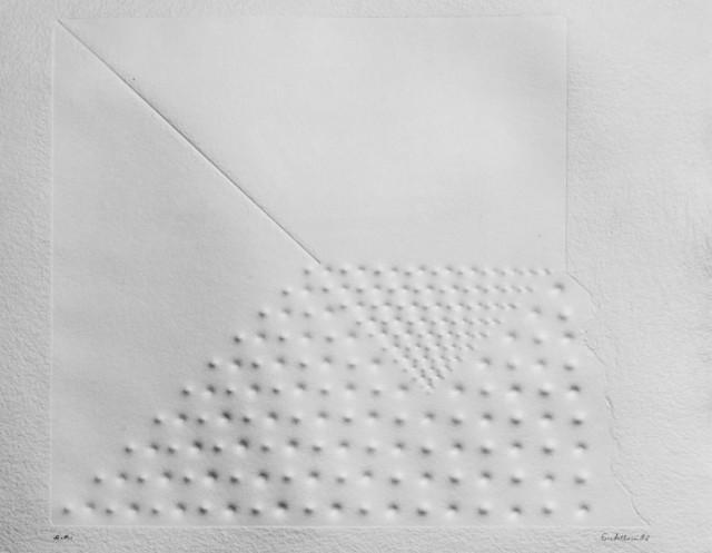 Enrico Castellani, 'Relief', 1982, Print, Print in relief, Finarte