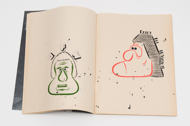 , 'Zine with drawings (1),' 2014, Fleisher/Ollman
