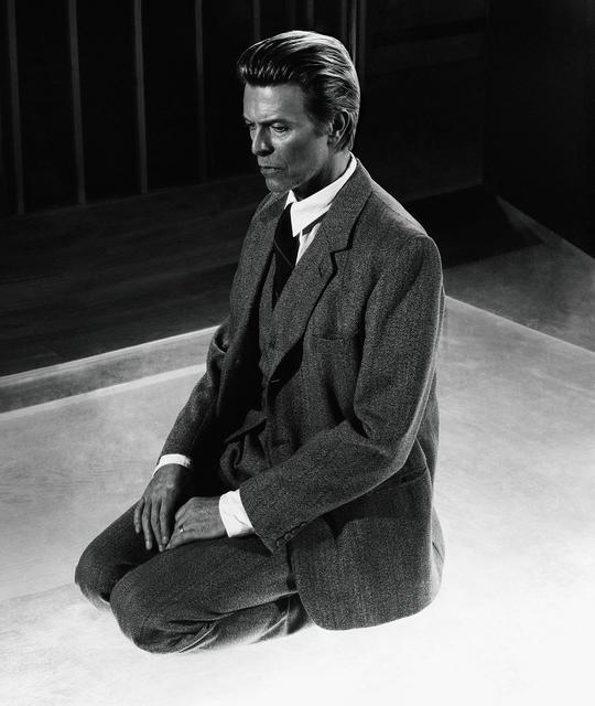 , 'David Bowie Kneeling,' , Mouche Gallery
