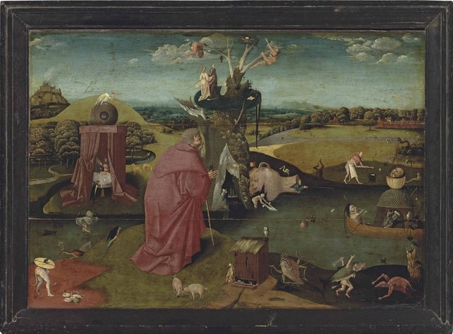 , 'The Temptation of Saint Anthony,' , Christie's Old Masters