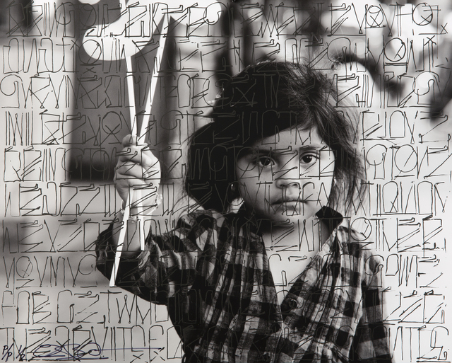 RETNA, 'Future In Her Eyes', 2011, Julien's Auctions