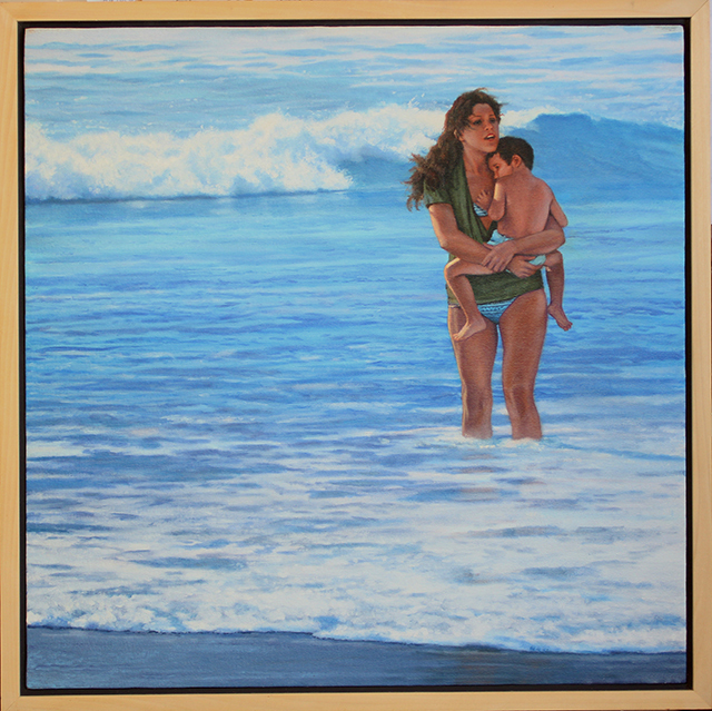 """, '""""Lullaby at the Surf Line"""",' 2016, Scott White Contemporary Art"""