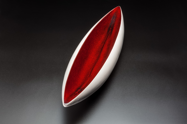 Pol Chambost, 'Canoe shaped bowl', ca. 1950, Transatlantique Gallery