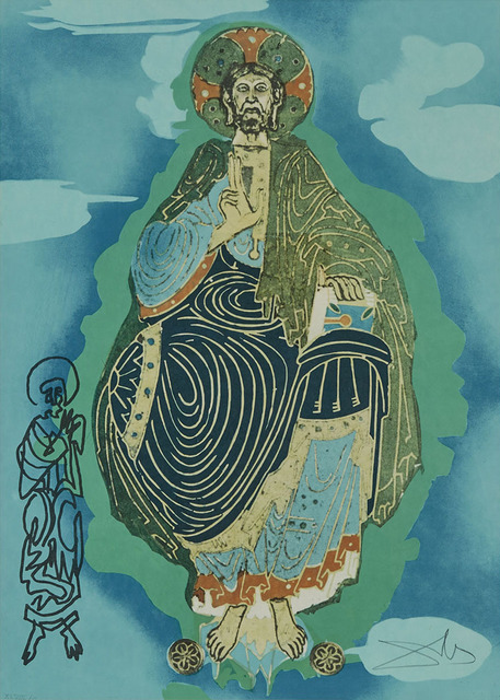 Salvador Dalí, 'Pantocrator - Christ In His Majesty (Tarot 3 Of Coins)', 1977, Waddington's