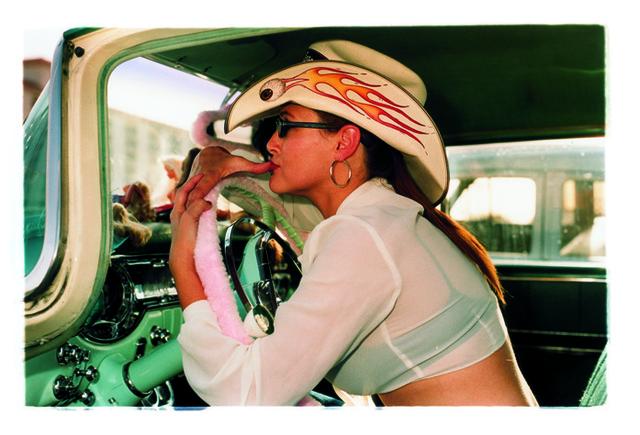 , 'Wende Flamin' Eyeball,' 2001, Bleach Box