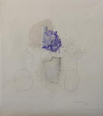 """, '""""Bodegón con celestinas II"""",' 2017, Sala Parés"""