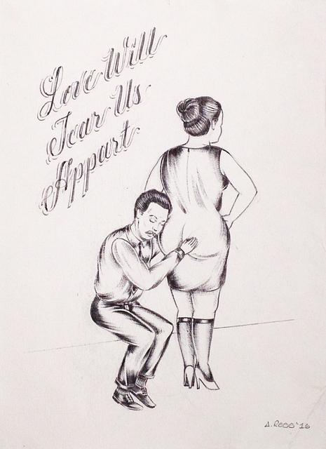 , 'Love Will Tear Us Apart,' 2016, V1 Gallery