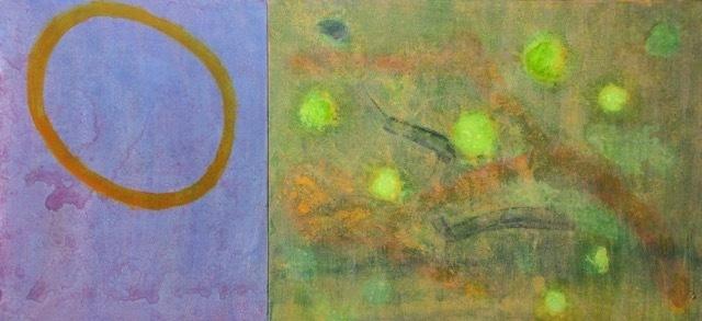 , ' Bubble & Fireflies diptych,' , Sara Nightingale Gallery