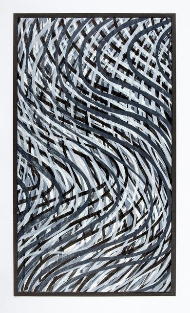 , 'Wavy Lines (Gray),' 1995, Wexler Gallery