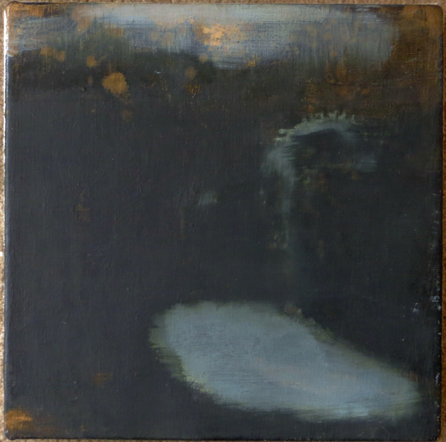 Stephanie Peek, 'Dark Blue Shadow Garden', 1996, Painting, Oil on Linen, Joseph Grossman Fine Art Gallery