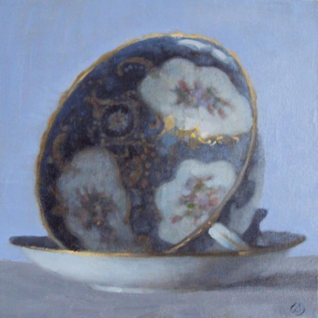 Olga Antonova, 'Blue China Cup', 2017, Rice Polak Gallery