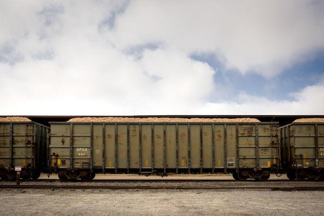 , 'Late Harvest: Train Cars, Allendale, South Carolina,' 2016-printed 2018, Thomas Deans Fine Art