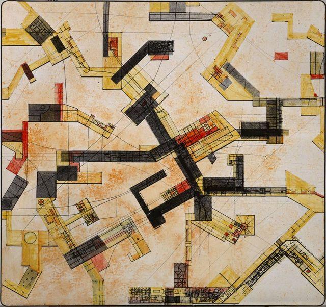 , 'Grundriss New Babylon über Slotermeer,' ca. 1966, Borzo Gallery