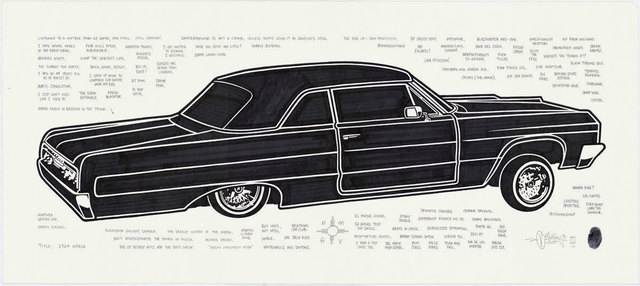 , '1964 Impala,' 2015, Black Book Gallery