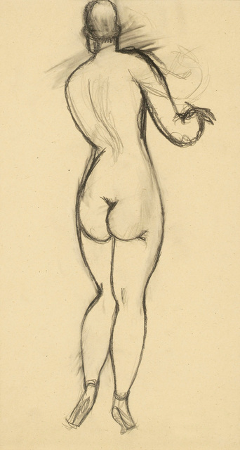 , 'Nude from the Back, double-sided,' , Galerie Bei Der Albertina Zetter