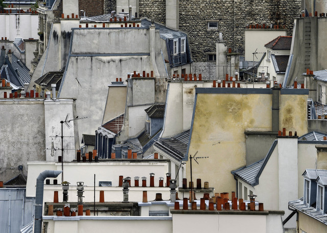 , '#1, Paris Roof Tops,' 2014, GALLERY FIFTY ONE