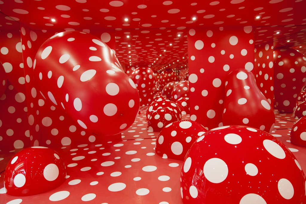 yayoi kusama guidepost to the eternal space 2015 artsy. Black Bedroom Furniture Sets. Home Design Ideas