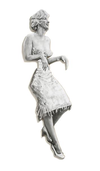 , 'Leaning Board II: Marilyn,' 2014, Vintage Deluxe