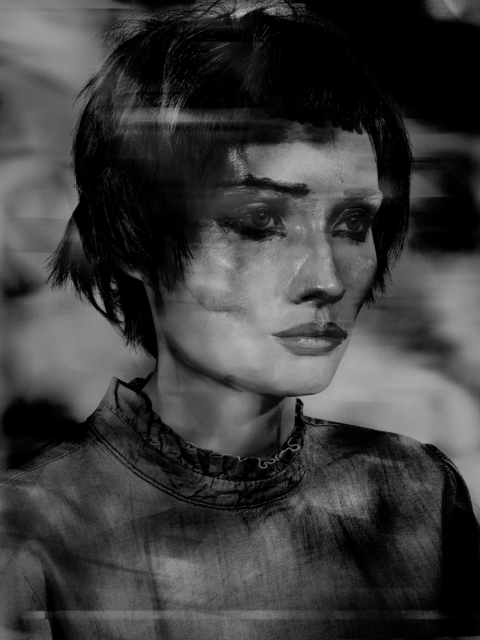 , 'Lady Pastel,' 2017, Edwynn Houk Gallery