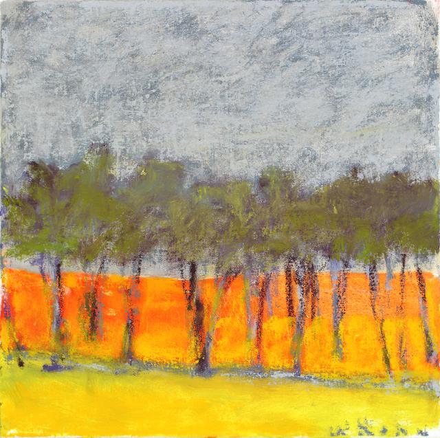 Wolf Kahn, 'Sky Verging on White', 2013, Tayloe Piggott Gallery