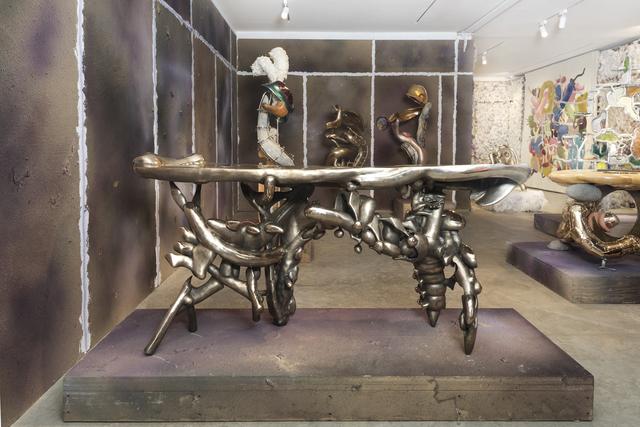 , 'Reception Desk for the Unknown,' 2020, Friedman Benda